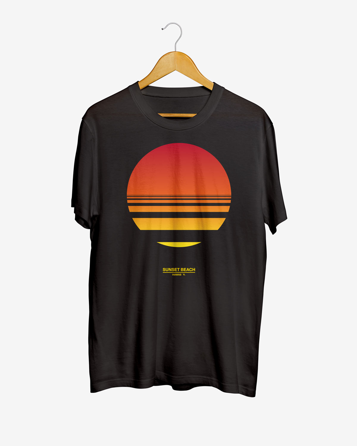 Rip Curl limited edition sunset-beach t-shirt